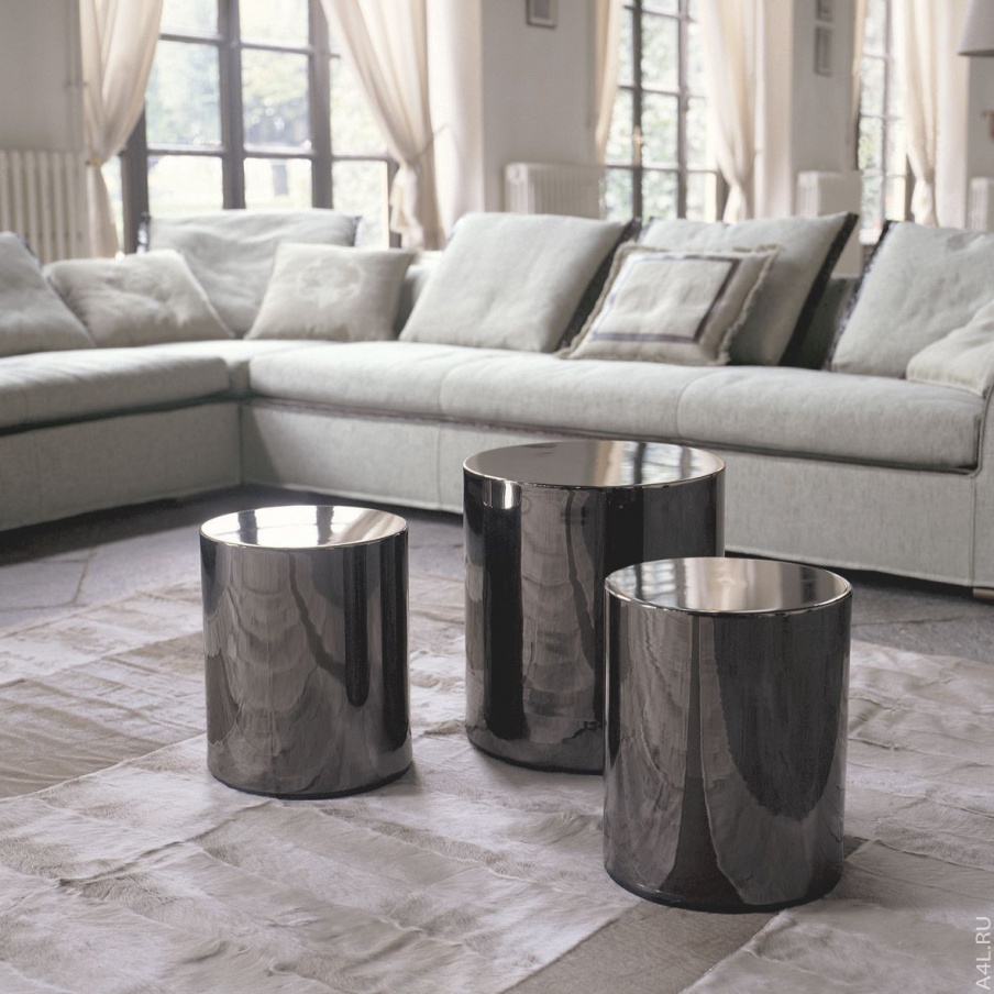 cf368654a0 Coffee table round Moon, Longhi - Luxury furniture MR