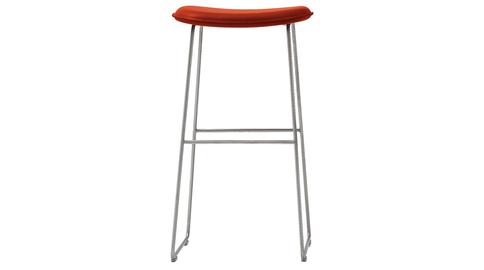 Morrison Bar Chair With Frame Made Of Metal Cappellini