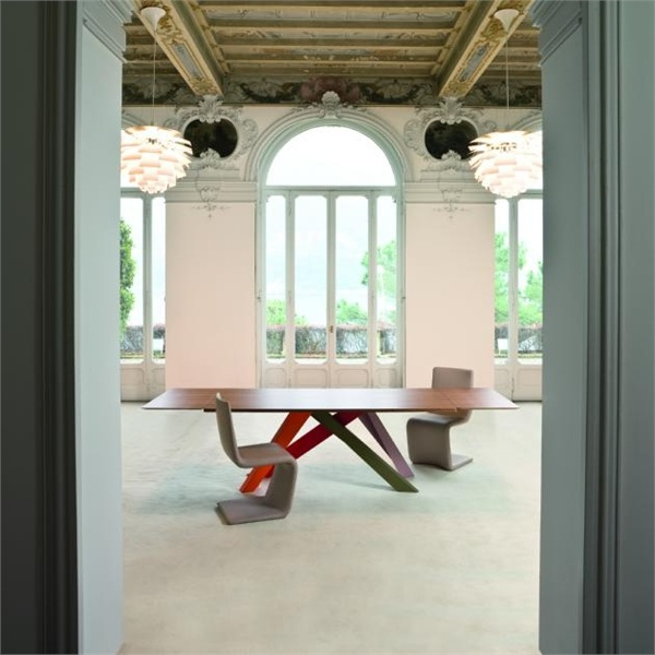Dining table - transformer, Big Table Bonaldo - Luxury furniture MR