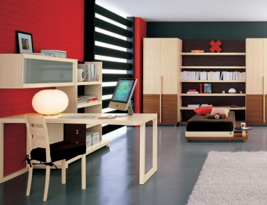 Children suite for children made of wood and metal c10 for Julia arredamenti