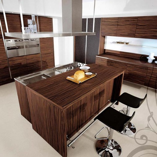 Kitchen (kitchen set) LUBE Cucine, Brava 1 - Luxury furniture MR