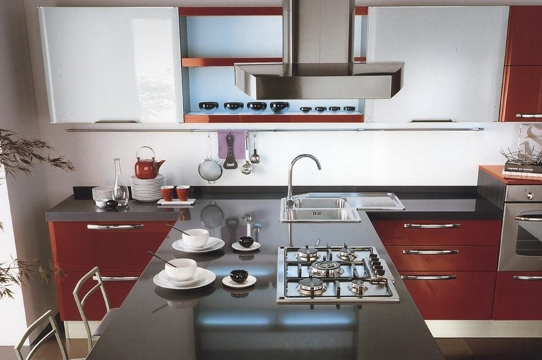 Kitchen (kitchen set) LUBE Cucine, Doris 2 - Luxury furniture MR