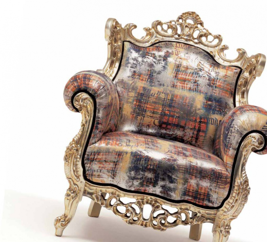 Armchair in fabric Hiphop, Moda