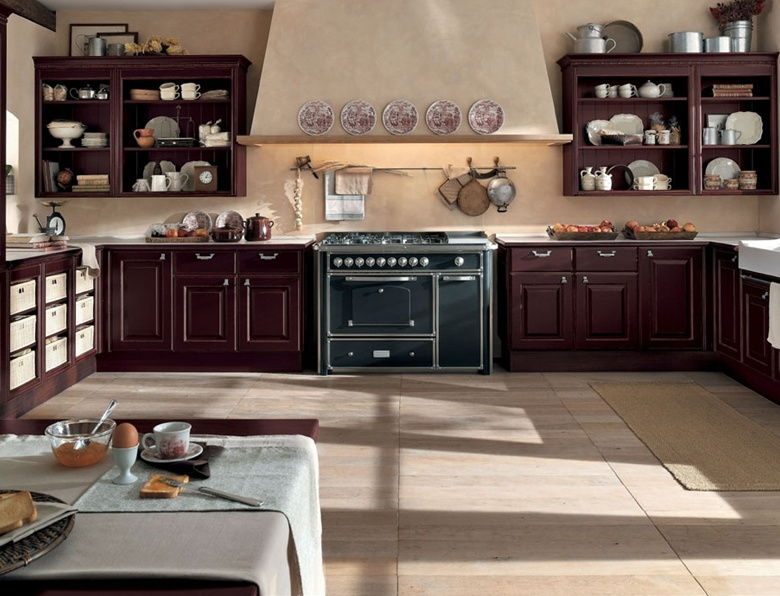 Kitchen set, Gaia - Berloni