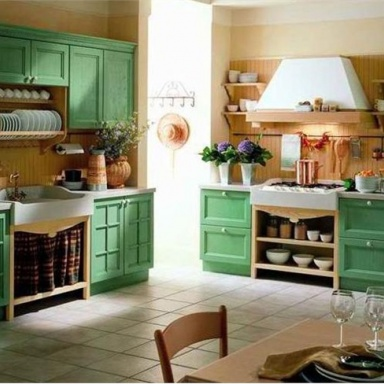 Kitchen (kitchen set) Primavera legno