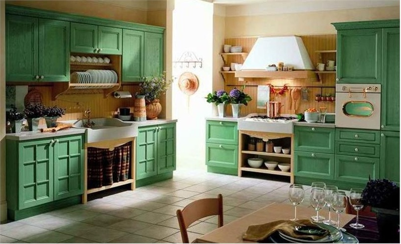 Kitchen (kitchen set) Tomassi, Primavera legno