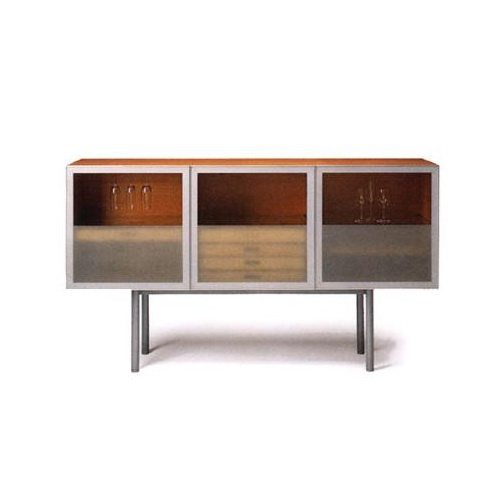 cabinet for kitchen sideboard with glass doors alto 01 horm luxury furniture mr 12861