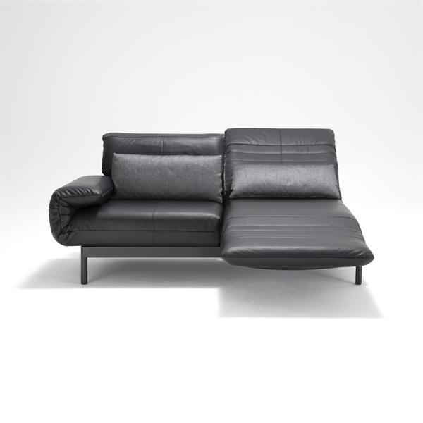 Two seater sofa with metal frame Plura Rolf Benz Luxury