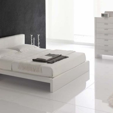 Bed with nightstands Plaza