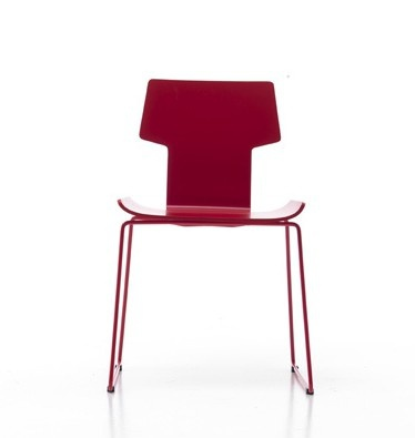 Chair without armrests, Rania Two - Sintesi