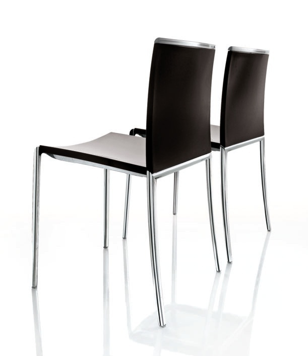 Stackable aluminum chair Tango, Alivar