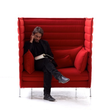 The Alcove Love Seat Chair