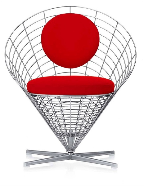 Chair Wire Cone Chair Vitra Luxury Furniture Mr