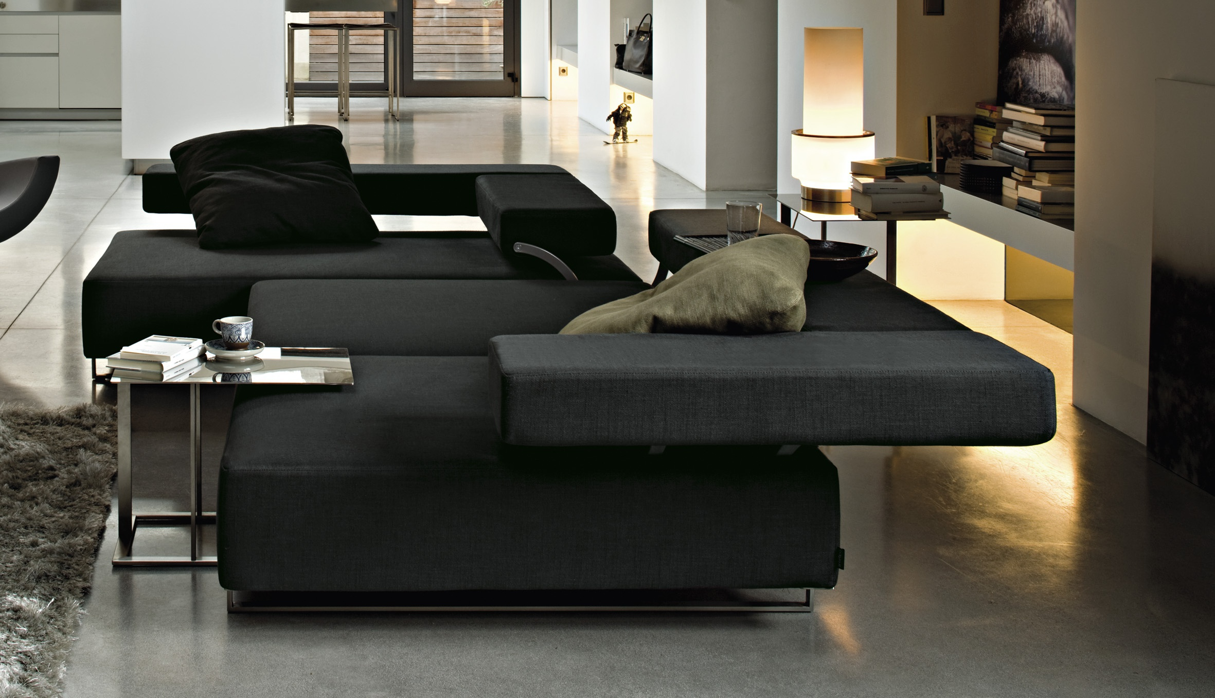 Loft Reclining Sectional Sofa From Arketipo Furniture