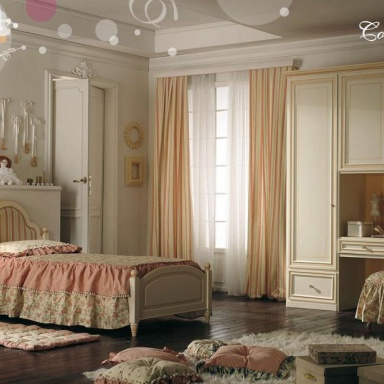 Set for children's bedroom Camerette