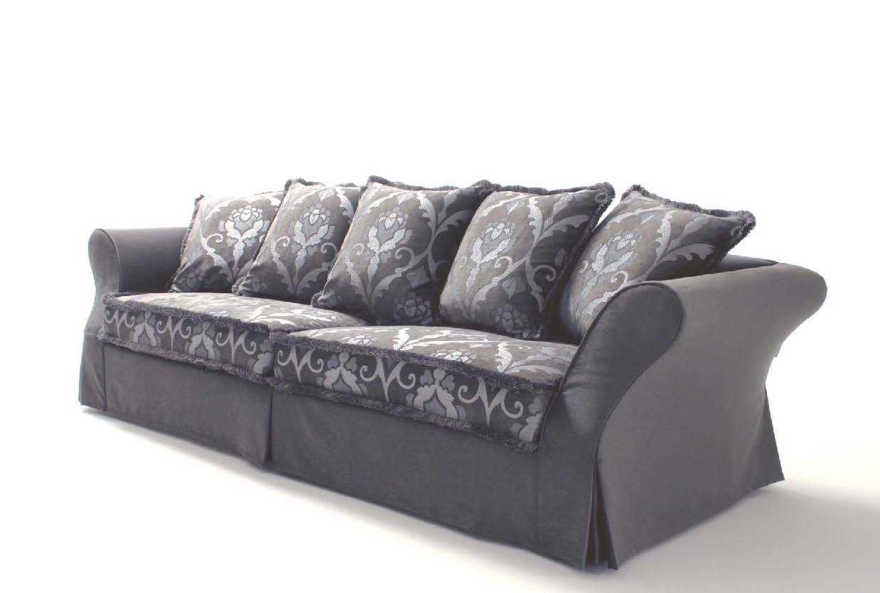 Three Seater Sofa Carolina Asnaghi Made In Italy