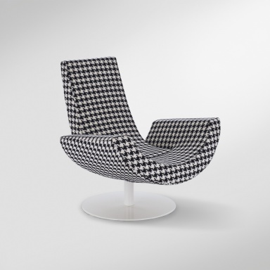 The chair rotating Fly, Arketipo - Luxury furniture MR