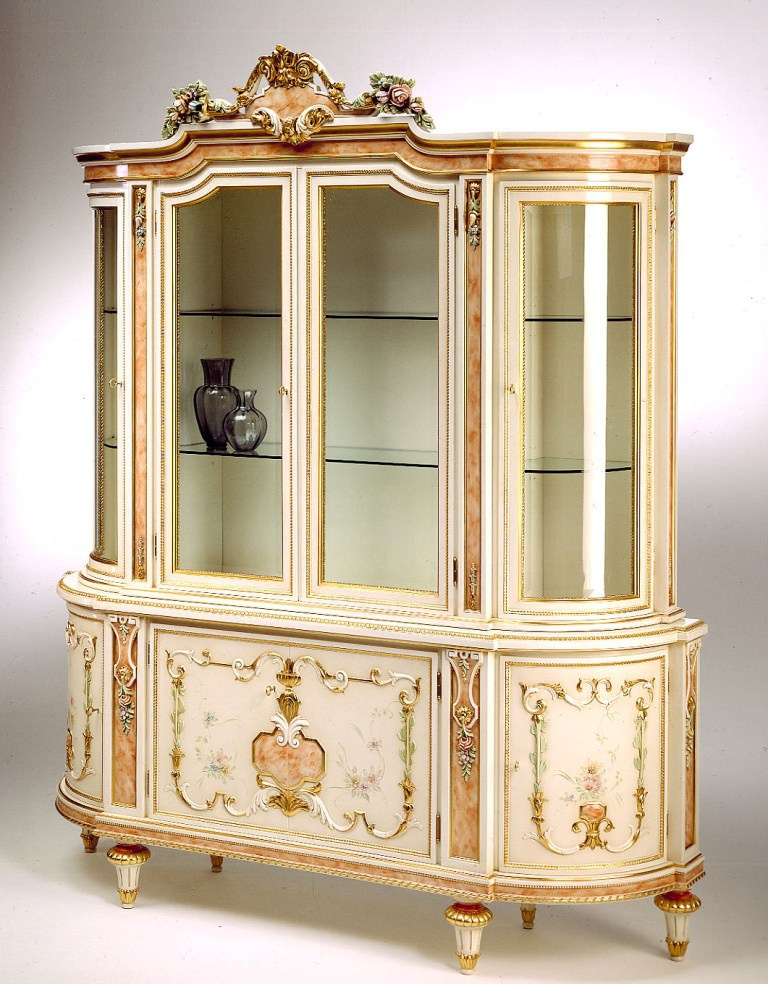 A display Cabinet with a glazed facade, Citterio