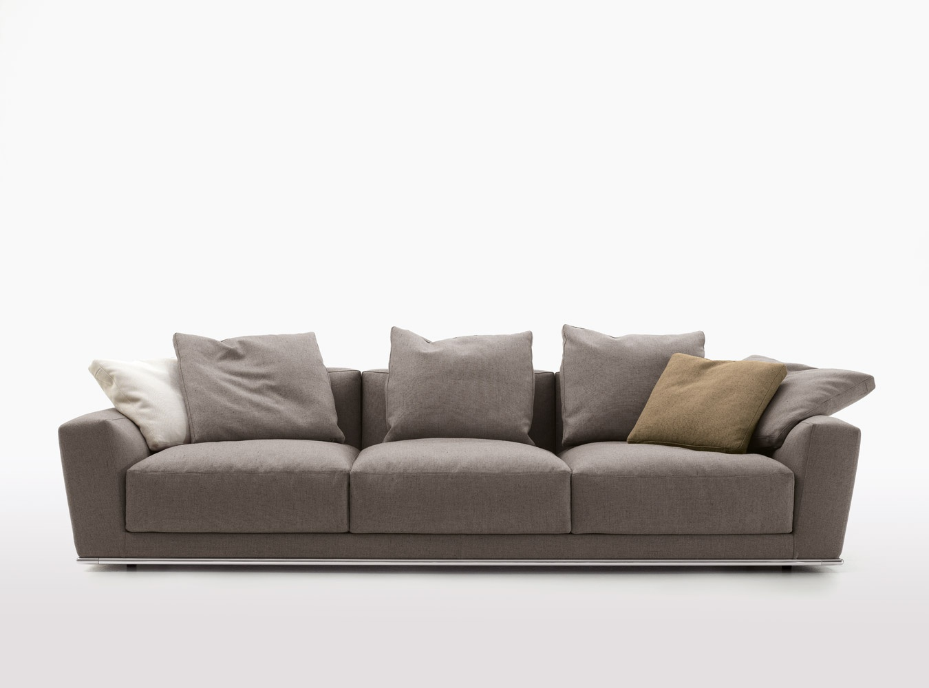 double sofa luis b b italia luxury furniture mr. Black Bedroom Furniture Sets. Home Design Ideas