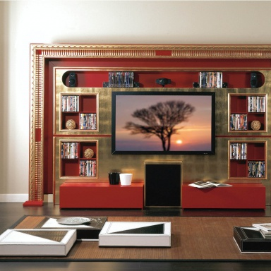 Furniture for home theater Vismara