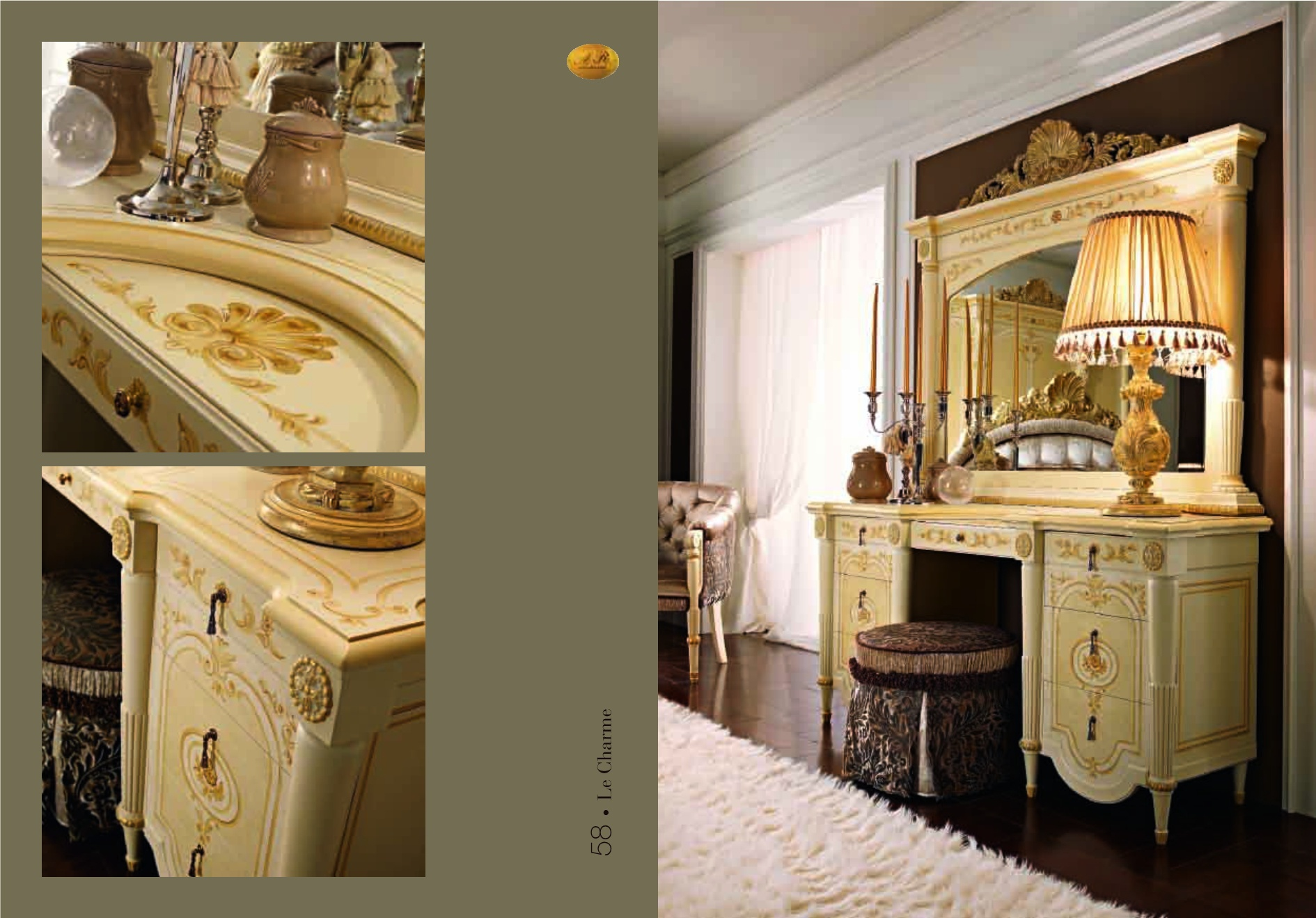 Dressing table ar arredamenti luxury furniture mr for Mr arredamenti