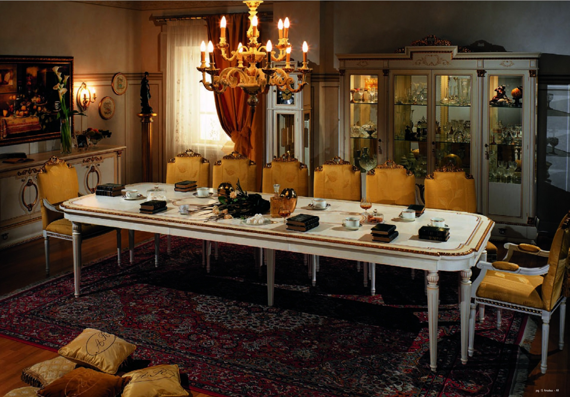 Dining table ar arredamenti luxury furniture mr for Mr arredamenti