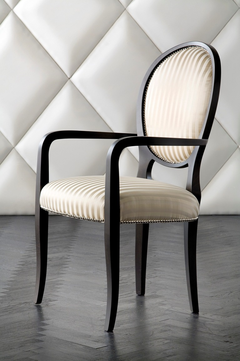 Chair with armrests, Costantini Pietro