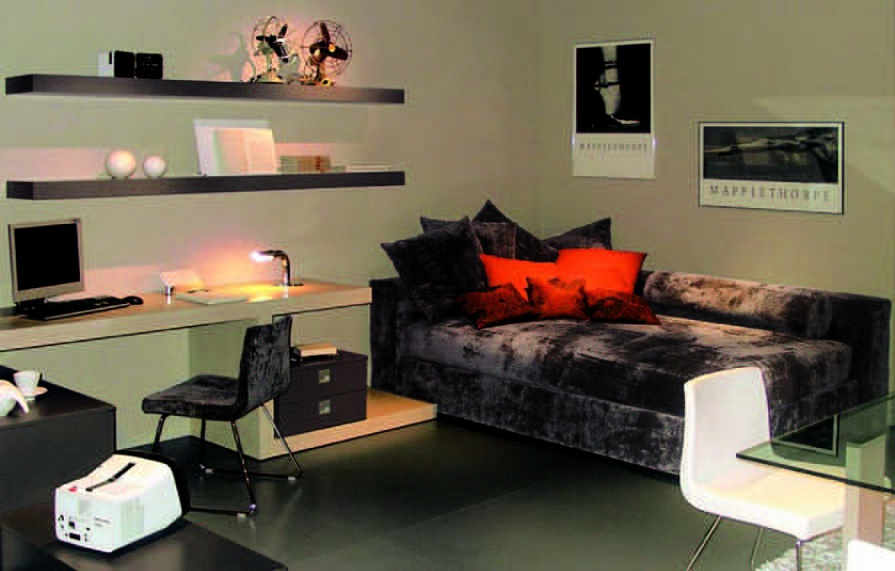 Set bed in fabric, Gab
