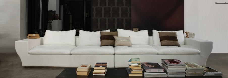 Quadruple sofa gamma arredamenti luxury furniture mr for Mr arredamenti