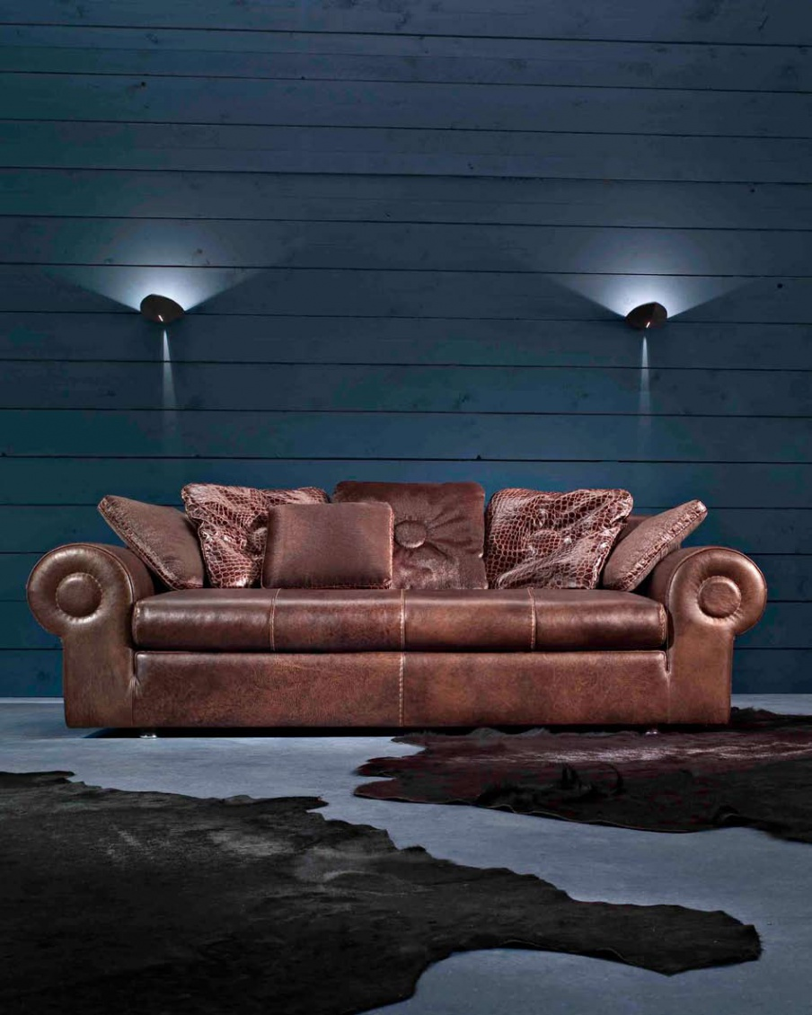 Double sofa gamma arredamenti luxury furniture mr for Mr arredamenti