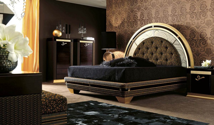 Double bed from Florence Collections