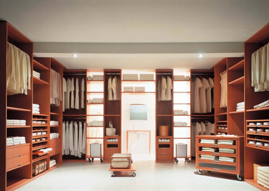 The armadi wardrobe ciliegio, Line Gianser - Luxury furniture MR