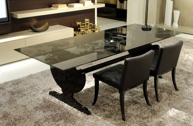 Agadir dining table in modern style from Besana
