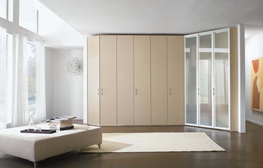 The armadi wardrobe rovere, Line Gianser - Luxury furniture MR