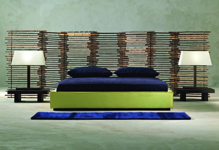 Double bed from Italian manufacturer Gervasoni