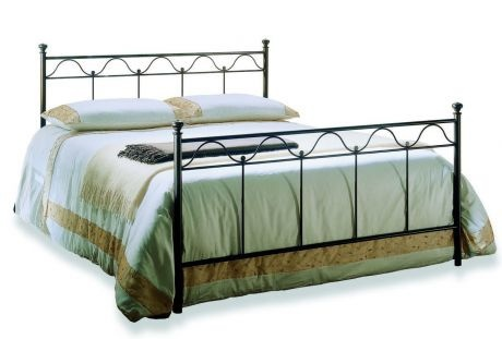 Double bed on a metal frame Sangalo, Bontempi Casa