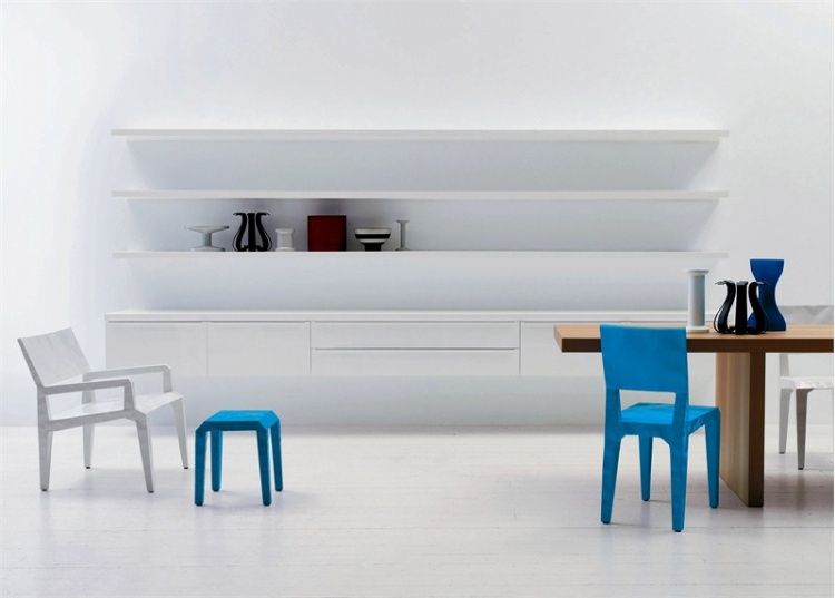 The Mr. Bugatti stool (low stool), Cappellini