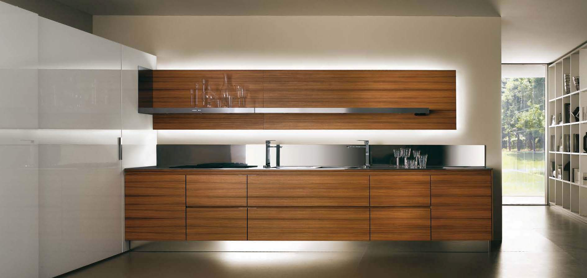 Kitchen kitchen set salvarani high teak