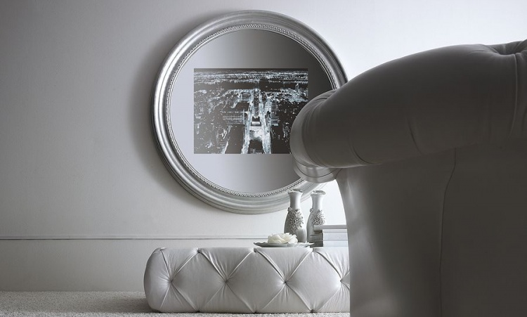 The mirror TV round Di Casa, Ego