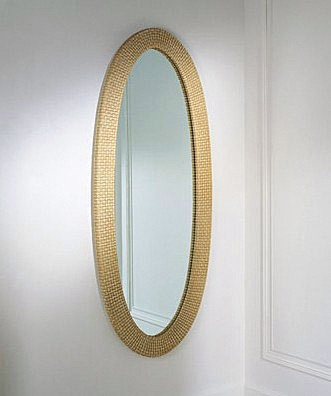 Oval wall mirror, ELLI Dec - Smania
