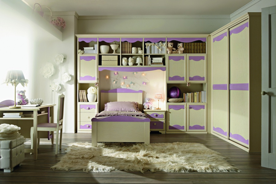 Set for the nursery in a modern style, San michele