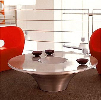 Coffee table in aluminium or steel Alien, Cattelan Italia