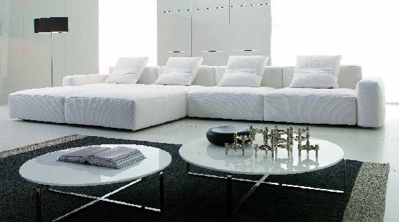 Modular Sofa With A Hidden Frame, Desiree