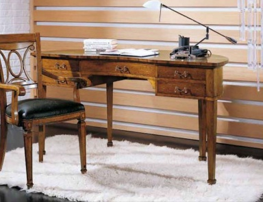 Dressing table made from natural wood amarante for Gil arredamenti