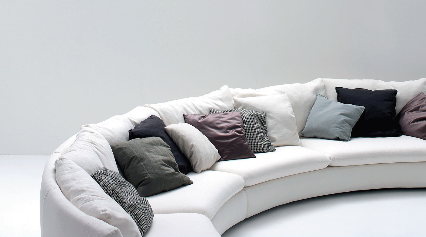 The Semicircular Sofa In Fabric Ben Ben Arflex Luxury