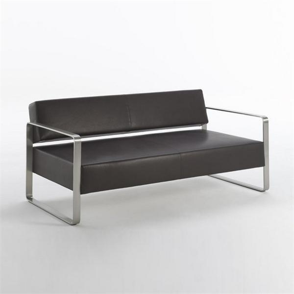 Sofa On A Metal Frame Domino, Matteograssi