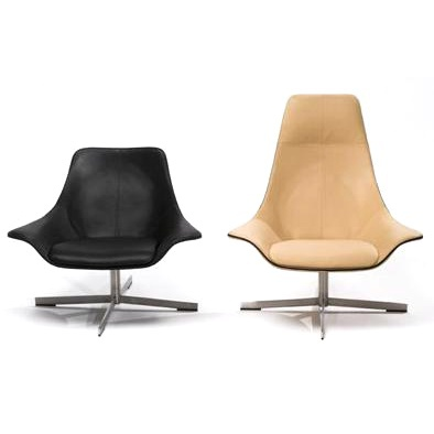 2LEATHER Swivel Chair, Matteograssi