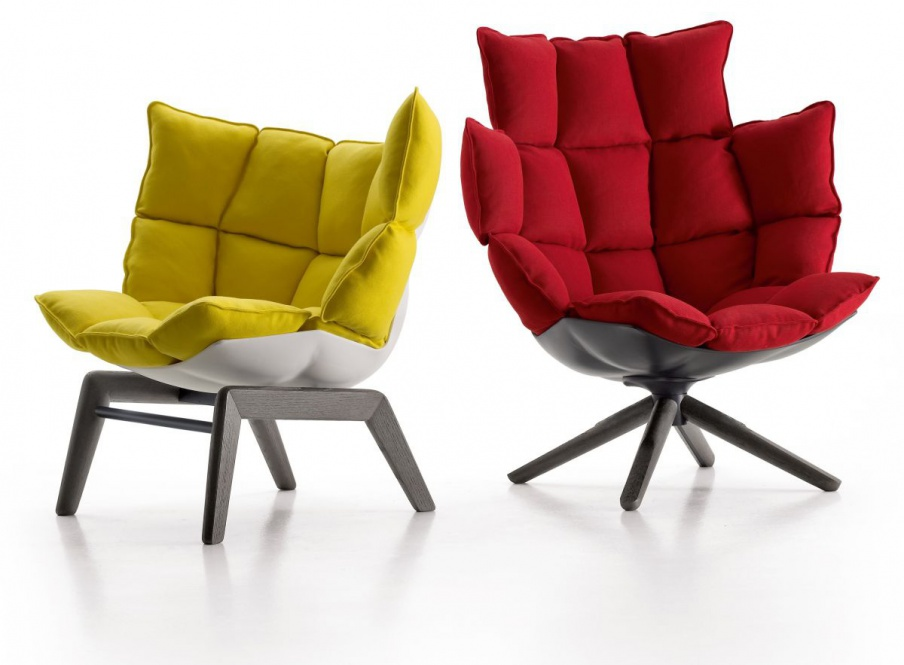 Chair Frame Made Of Aluminum In Textile Or Leather Upholstery Husk