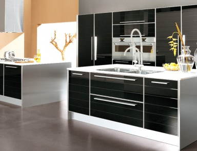 the kitchen is on a frame of wood doge zaccariotto cucine