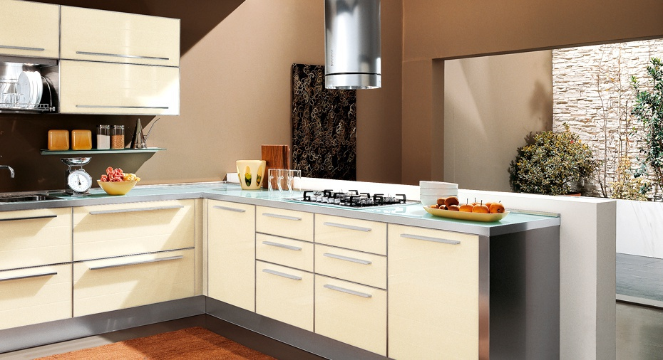 set for the kitchen with silent closing system drawers doge zaccariotto cucine